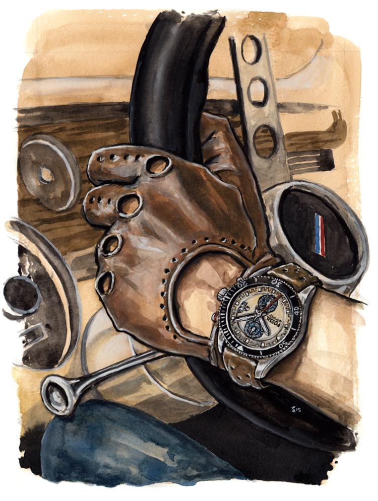Wakefield Watch painting
