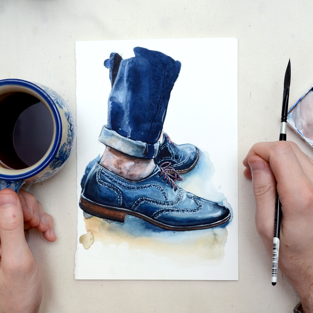 Shoe Fashion Illustration