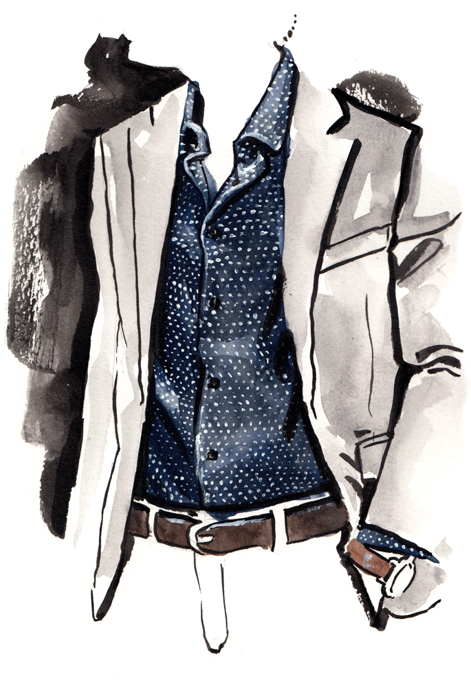 Nick Graham fashion illustration