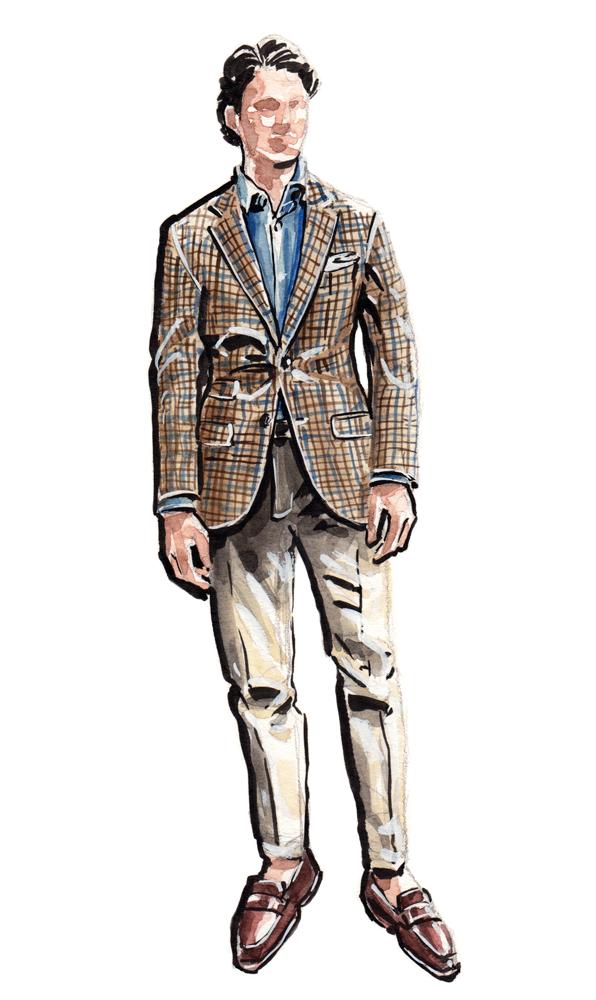 H.Stockton fashion illustration