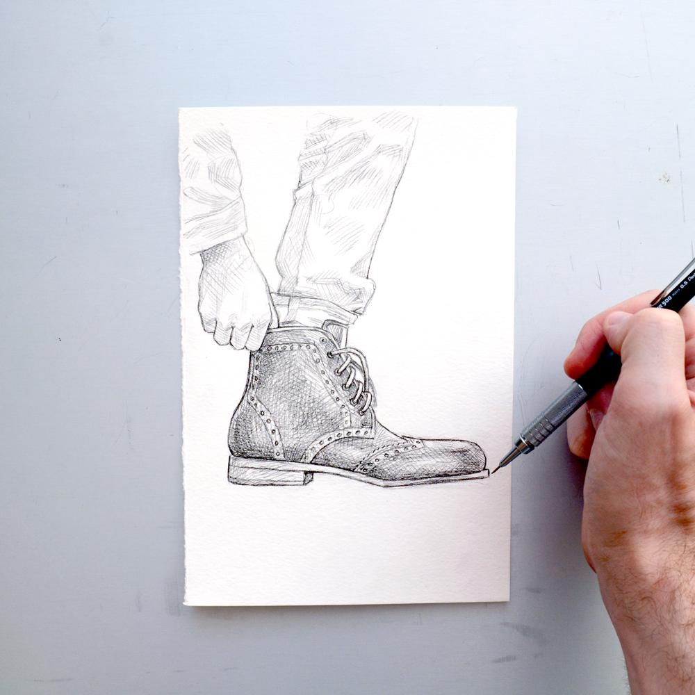 Tawny Goods drawing