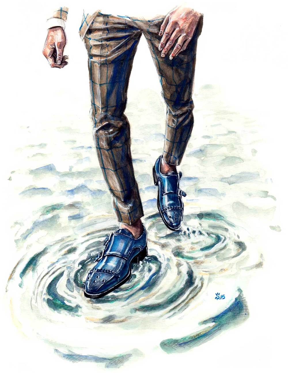Andres Séndra fashion illustration