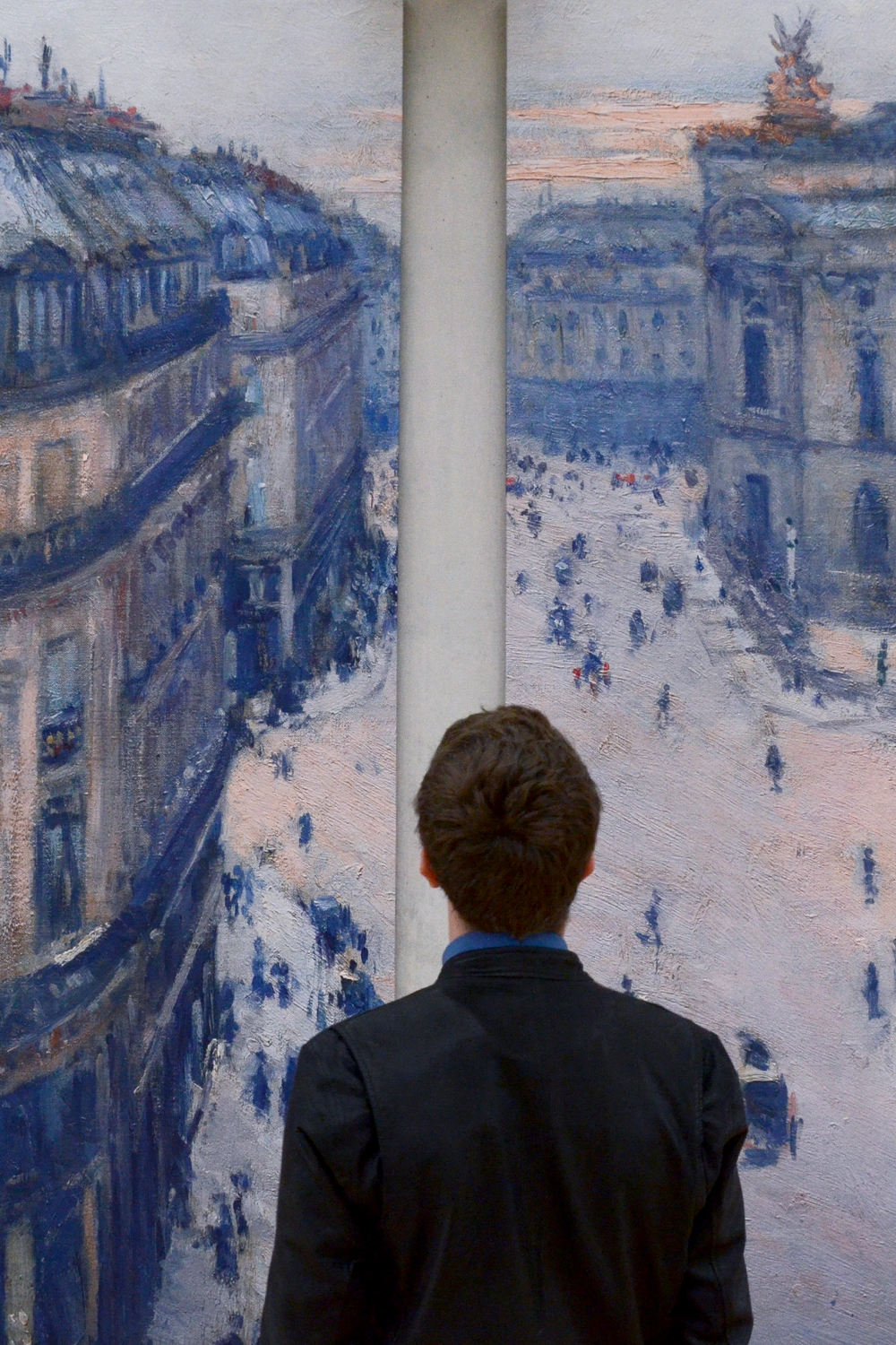 Caillebotte At The Kimbell Art Museum Sunflowerman