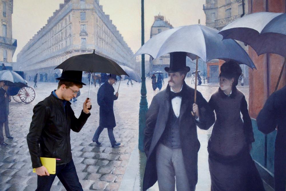 Paris, a Rainy Day (1877)