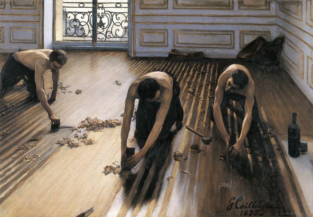 Les raboteurs de parquet (1875), 'Floor Scrapers'