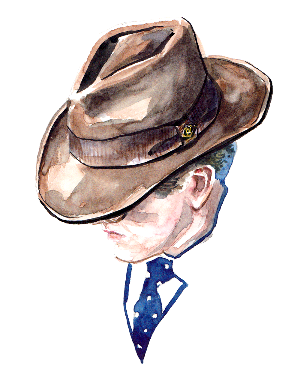 Goorin Bros fashion illustration