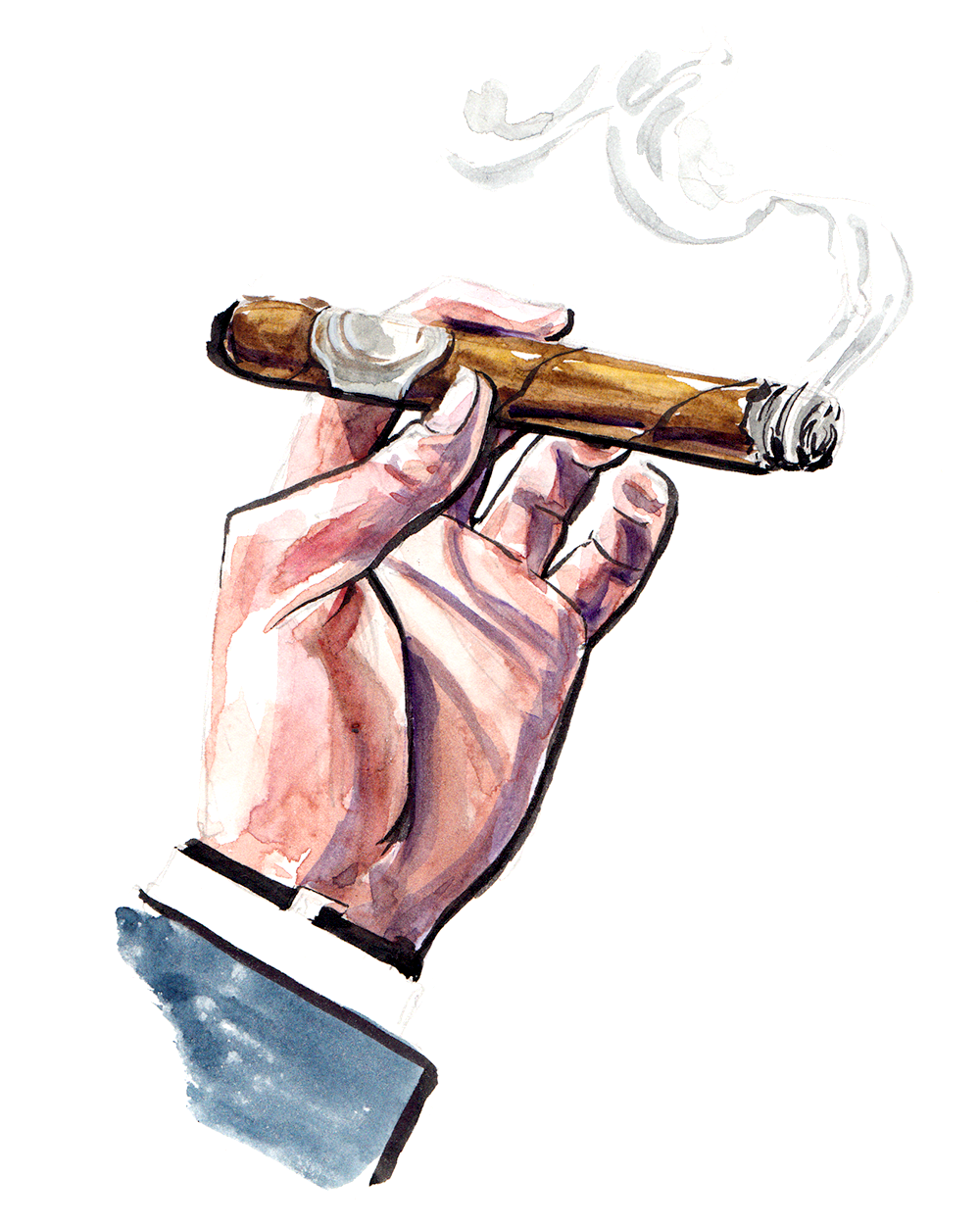 Nat 42nd Cigar fashion illustration