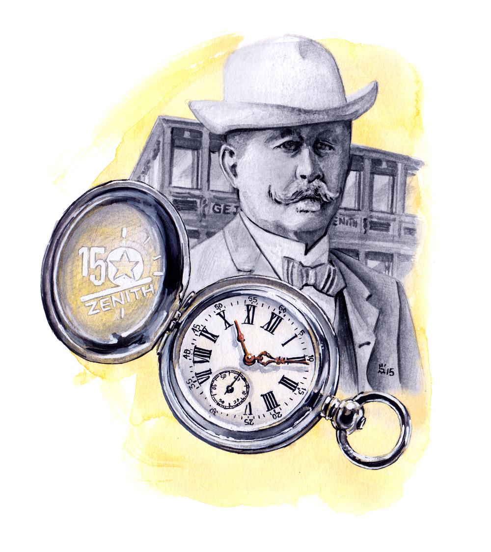 Zenith Historic Pocket Watch