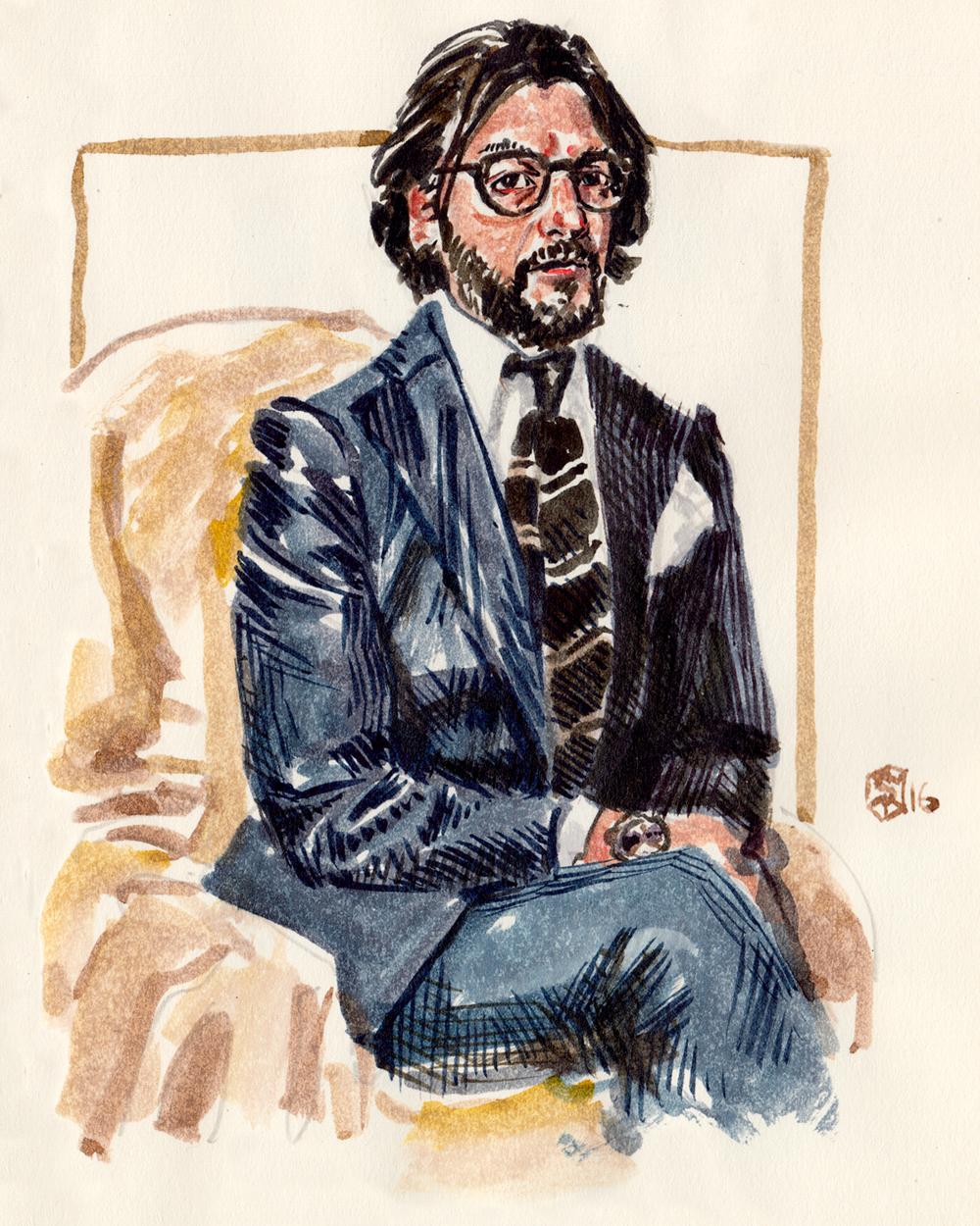 Portrait of Nicola S Ricci