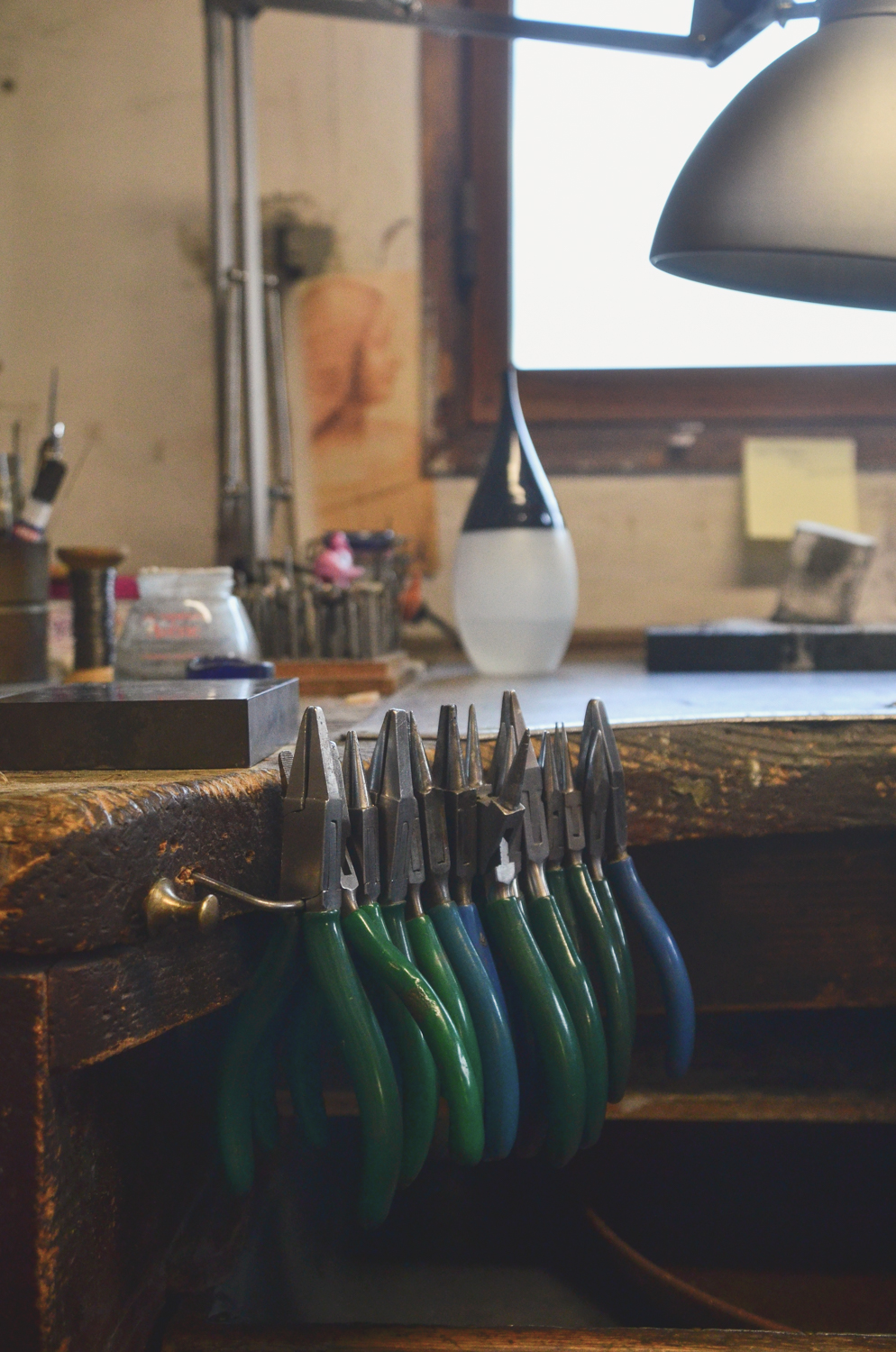 Tools inside the Atelier.