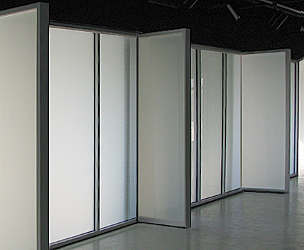 Glass partition walls acsm Office partition walls with doors