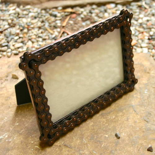 Bike Chain 4x6 Frame - India — Fair & Square Imports
