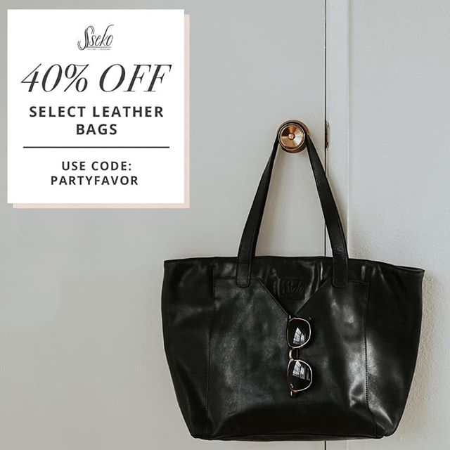 Today only 7/17/18 [LINK IN BIO] for today's deal! ✨ Sseko's annual birthday sale IS HERE! They're celebrating with seven days of flash sales. 🛍️ Are you ready for your next adventure?! Fromlarge leather totes to convertible backpacks to little crossbody bags, we've got the perfect bag for adventures big and small! Today only, enjoy40% offselect leather bags. Don't miss out, this flash sale is only here for 24 hours! Promo code:PARTYFAVOR . . #sseko #ssekostyle #ssekodesigns #ssekofellow #ssekosandals #ssekofellows #ssekos #fairtrade #handmade #ethicalfashion #fashionforgood #shopforgood #ethicalliving #giveback #ethical #ethicallysourced #downtownmckinney #fairforall #livelifefair #fairher #fairtuesday #chooseartisan #givebetternotmore