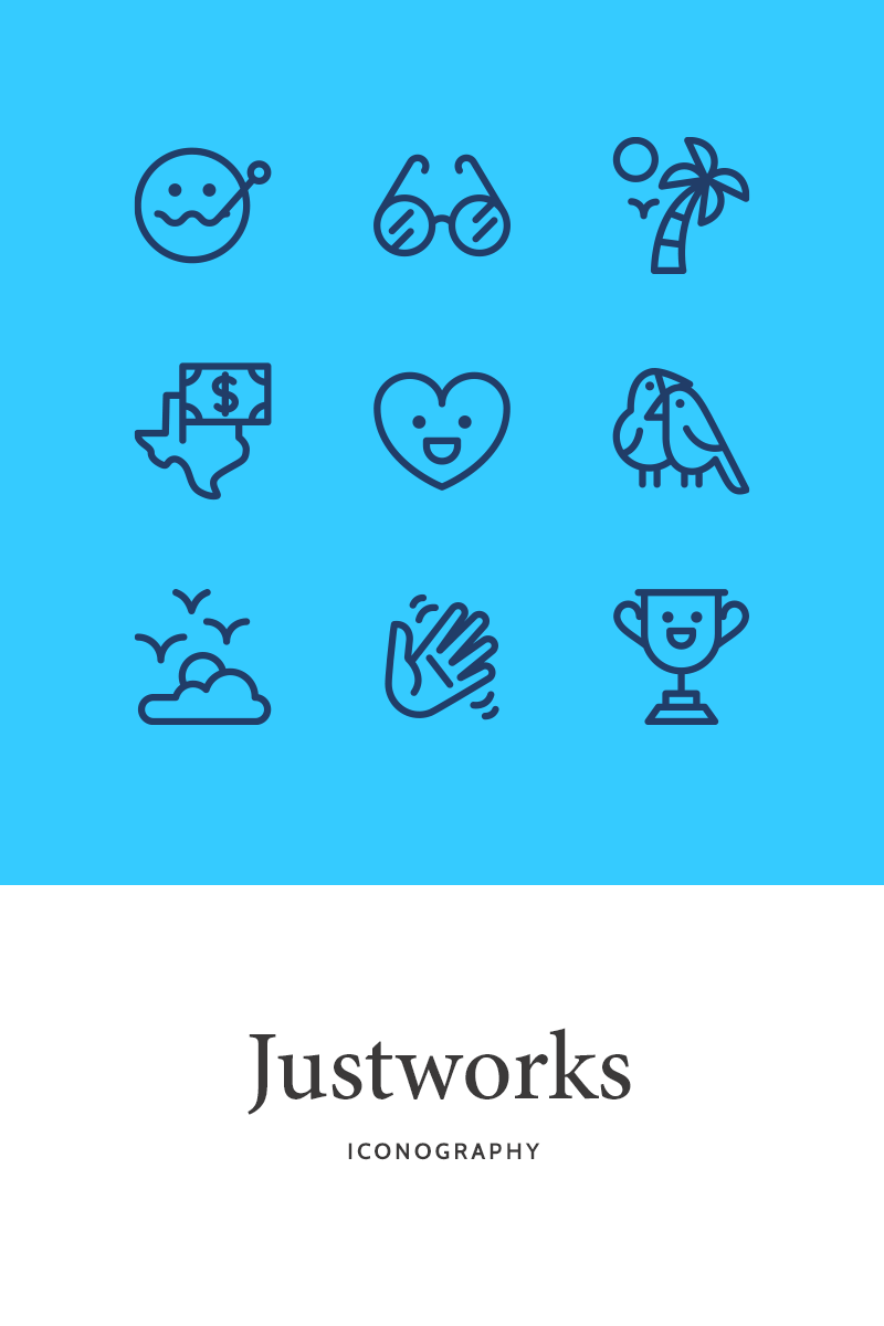 Justworks - Iconography