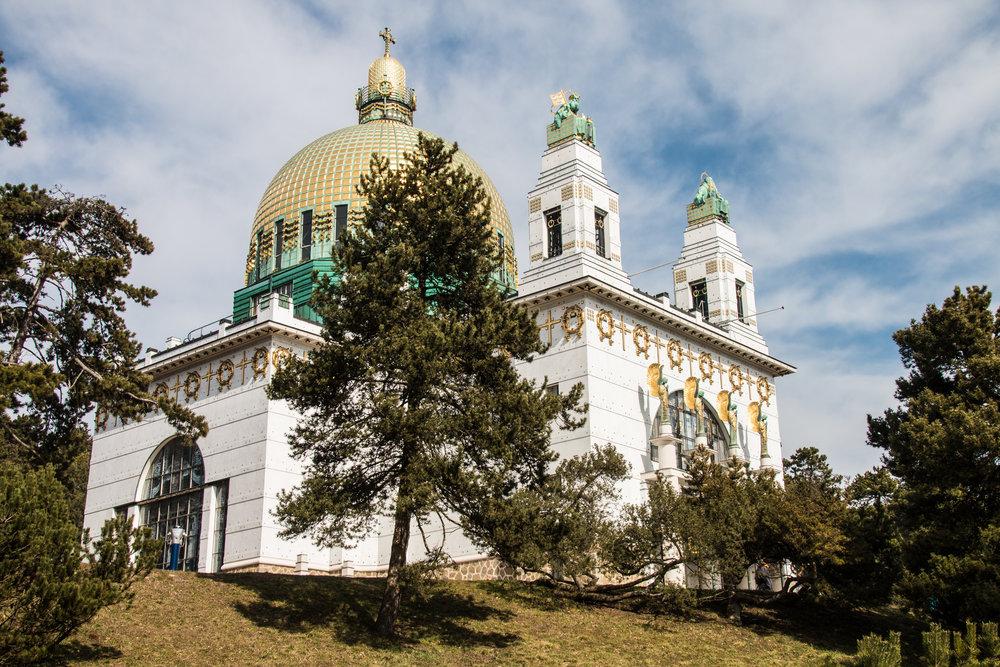 1140 Wien - Kirche am Steinhof   EOS 70D - F/8 - 1/640Sek - ISO 250 - 26mm