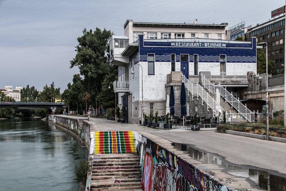 1020 Wien - Donaukanal - Schützenhaus