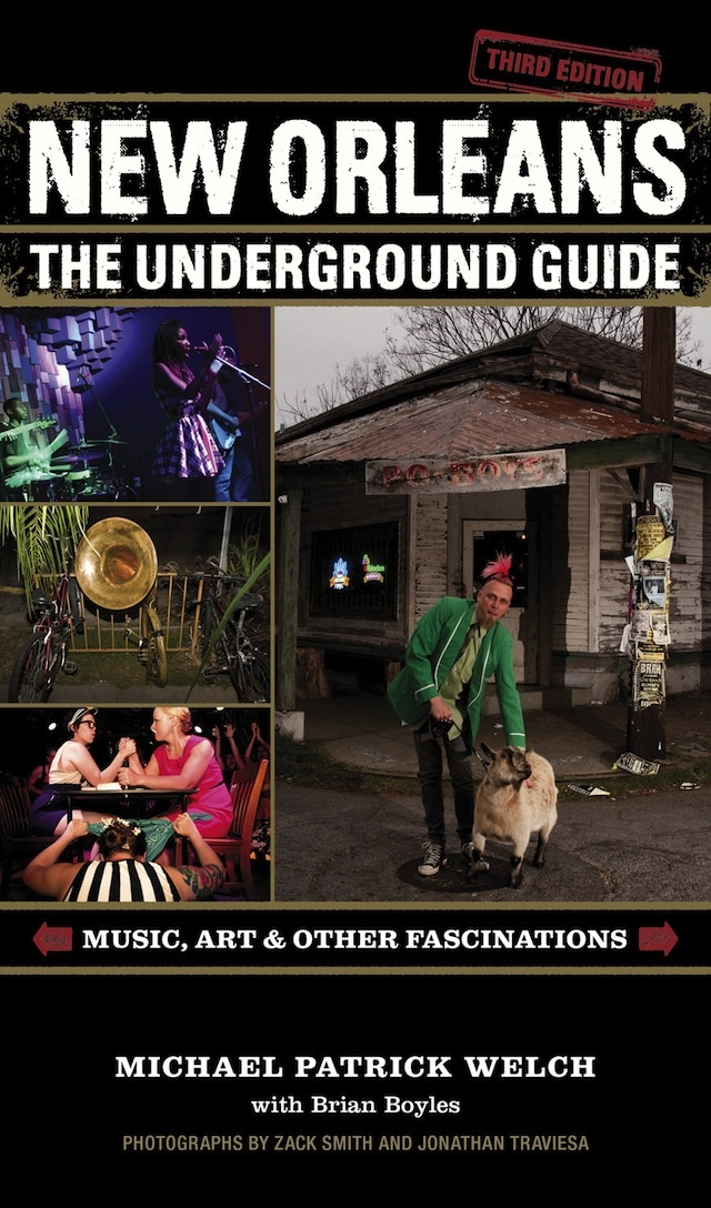 The New Orleans Daiquiri Festival is featured in New Orleans: The Underground Guide (Third Edition).
