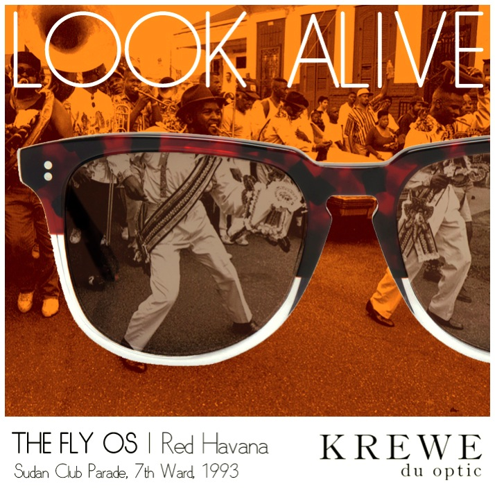 Shades made to wear with your 2nd Line Suit. #KREWEduoptic #2ndline #7thWard
