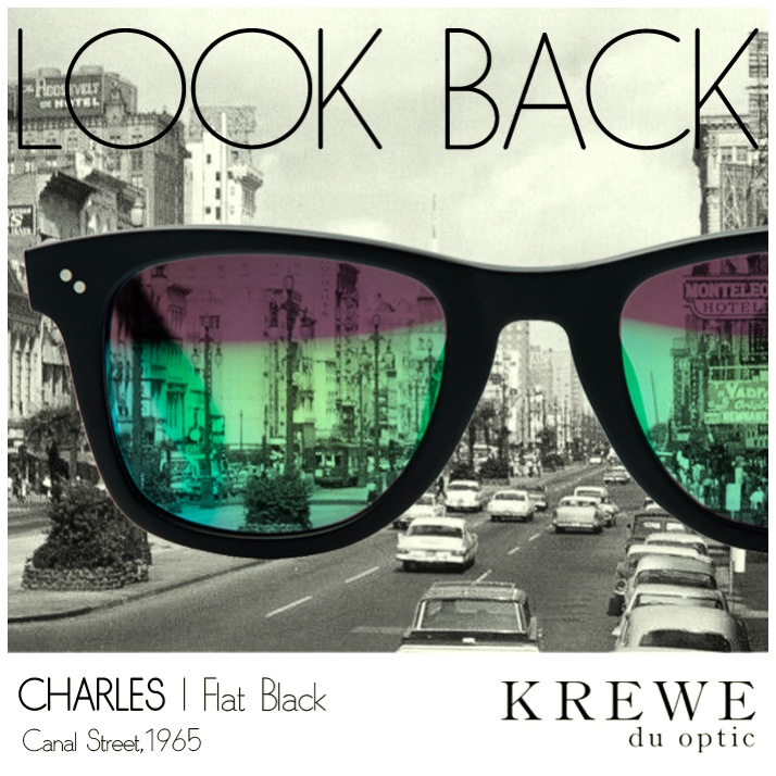 Look back or look forward. A classic view never changes. #KREWEduoptic #CanalStreet #Timeless
