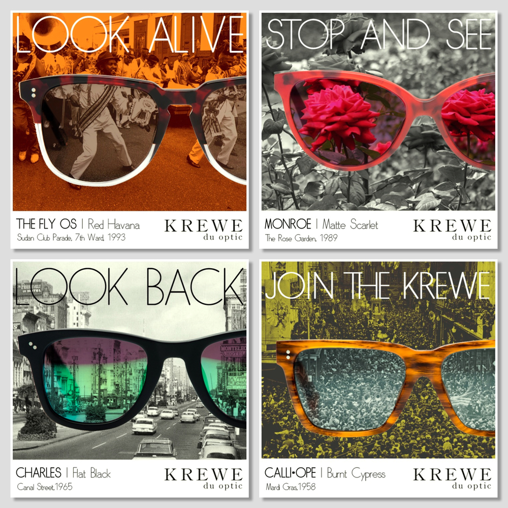 Social Media Campaign Concept for Krewe du optic