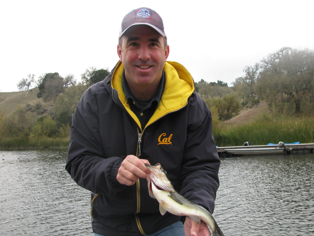 This is me with a large mouth bass at Alisal Ranch, CA.