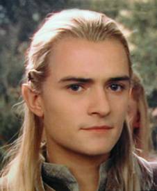 Orlando Bloom as Legolas the elf in Lord of the Rings
