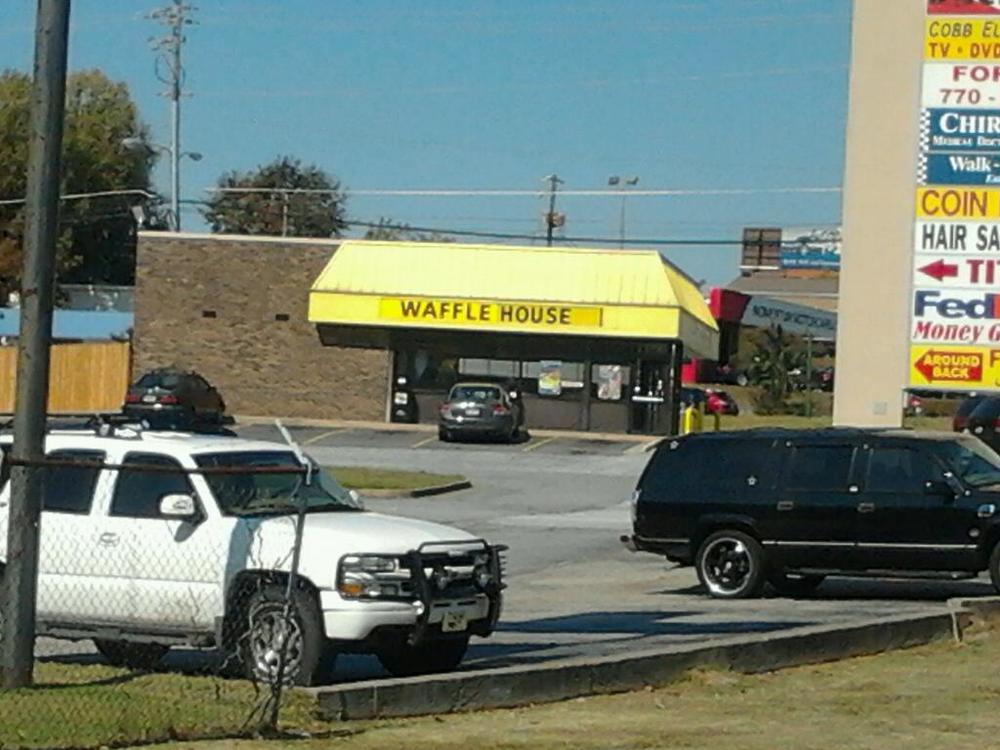 The Waffle House at Exit 111 in Marietta, GA.  photo: Clarisa Morrow-Usher