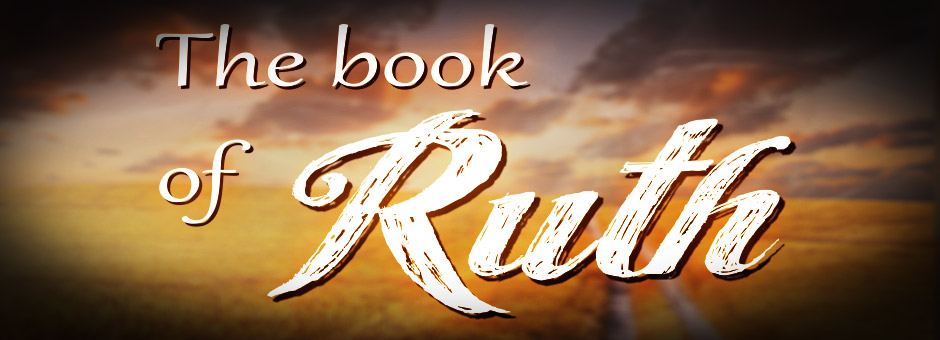 "a stylized title, ""The book of Ruth"""
