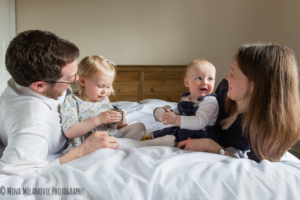Mina Milanovic Family Photography West London