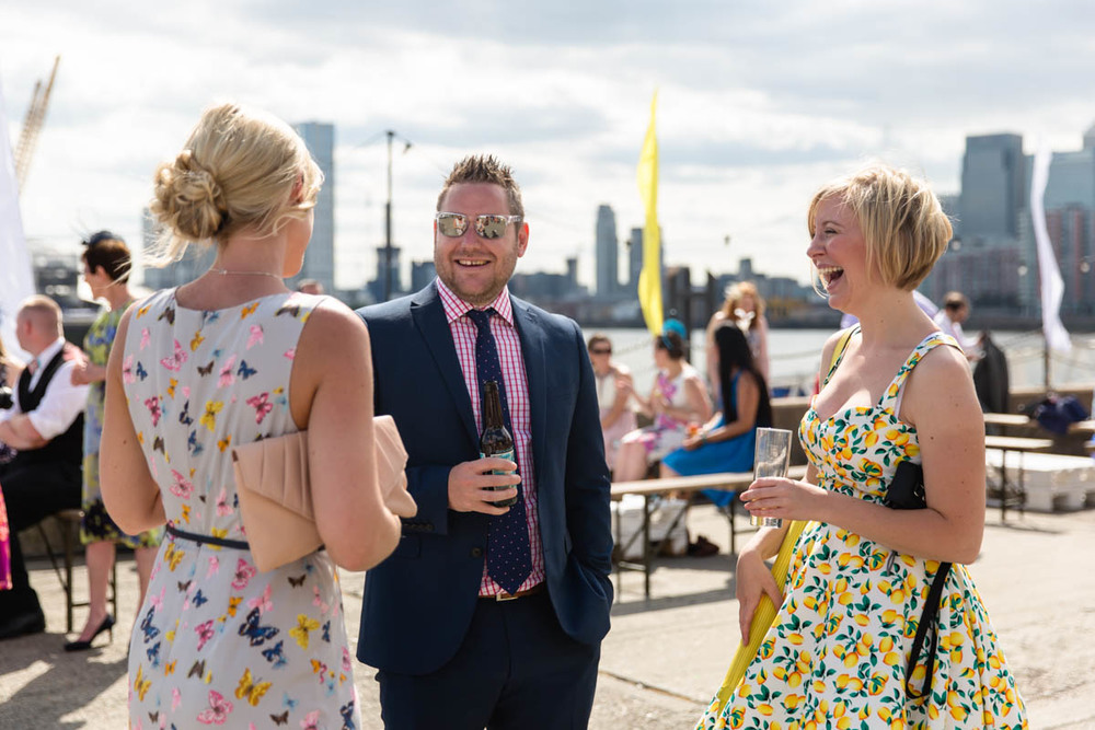 Wedding Photographer London | Trinity Buoy Wharf Wedding