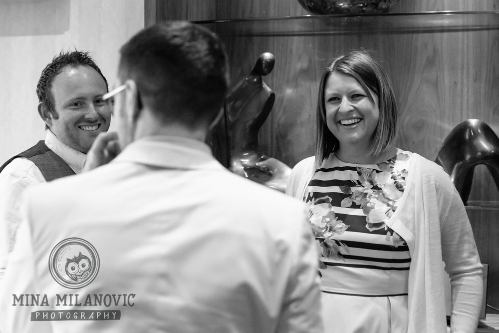 Petersham Hotel Wedding Reception / Richmond and Petersham Wedding Photographer