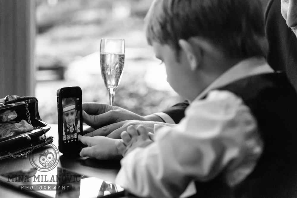 Petersham Hotel Wedding Reception / Richmond Wedding Photographer