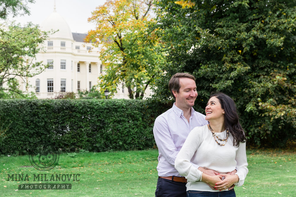 Richmond upon Thames pre-wedding photographer