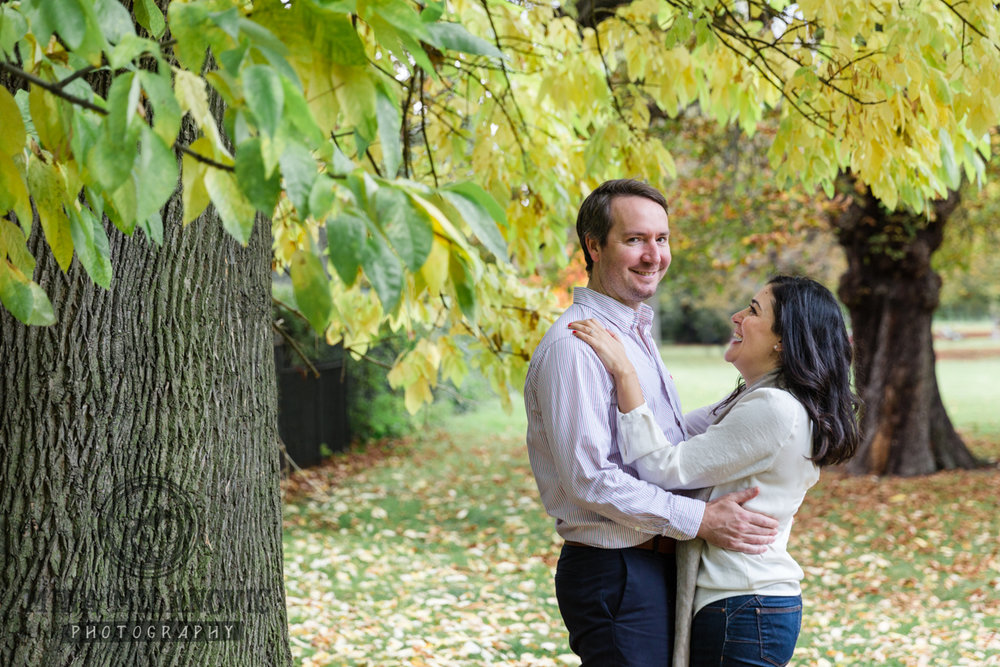 Regents park engagement photographer