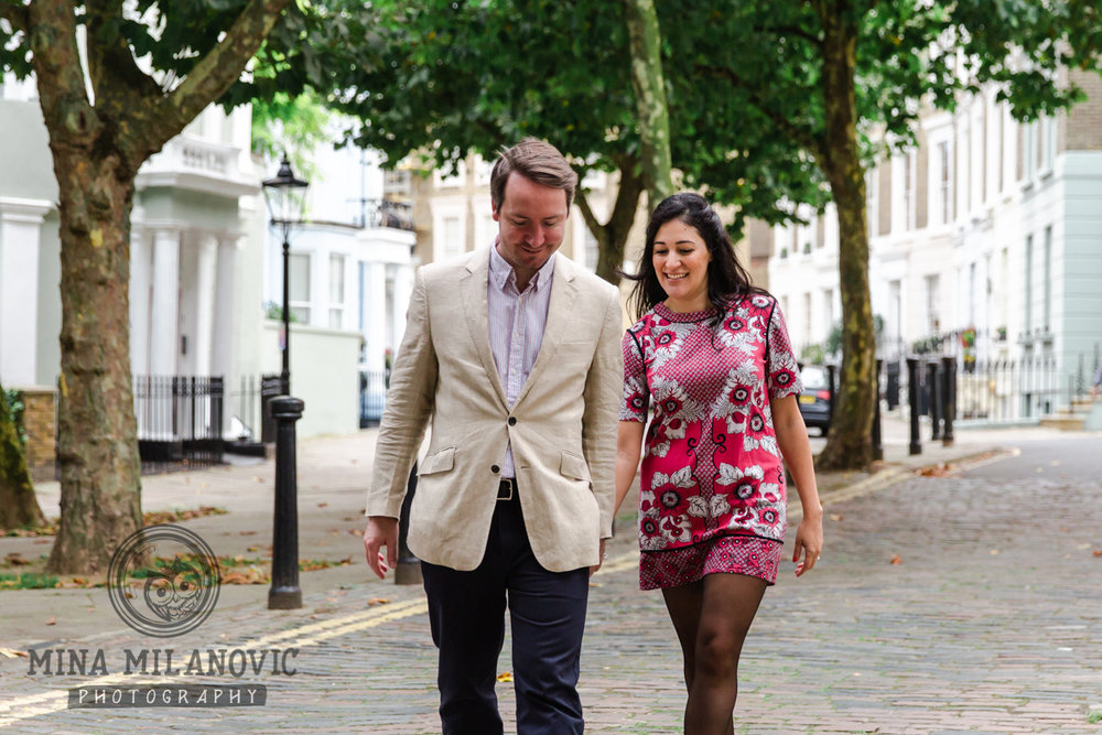 Primrose Hill London engagement photographer