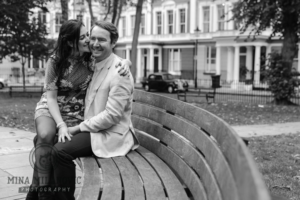 Primrose Hill pre-wedding photographer