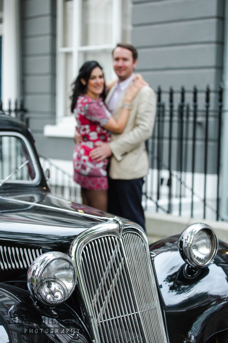 Primrose Hill engagement photoshoot