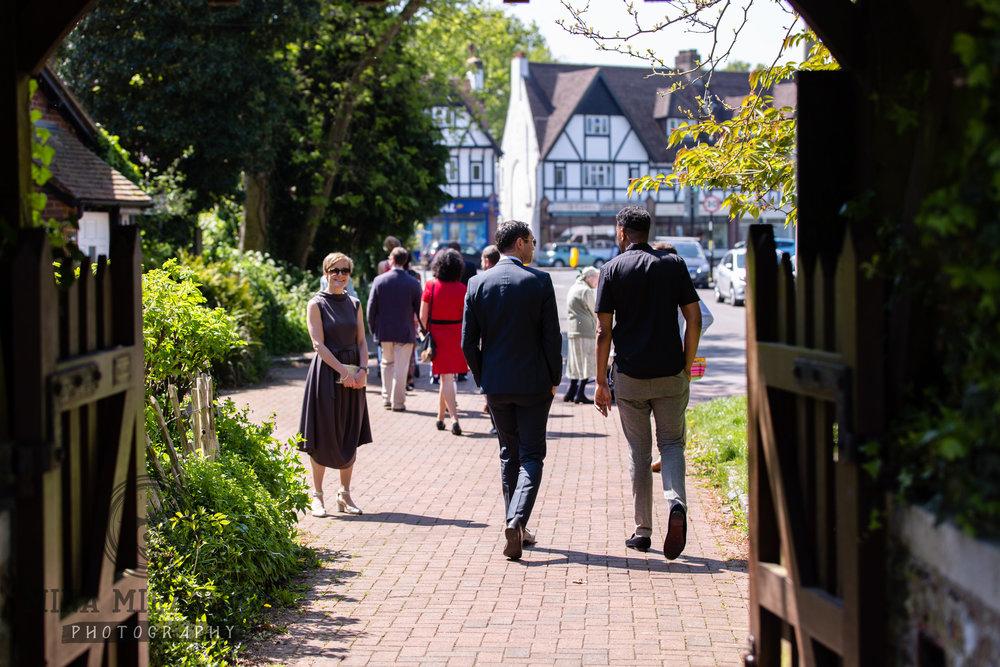 Surrey Christening