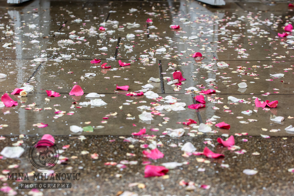 Rainy York House Wedding