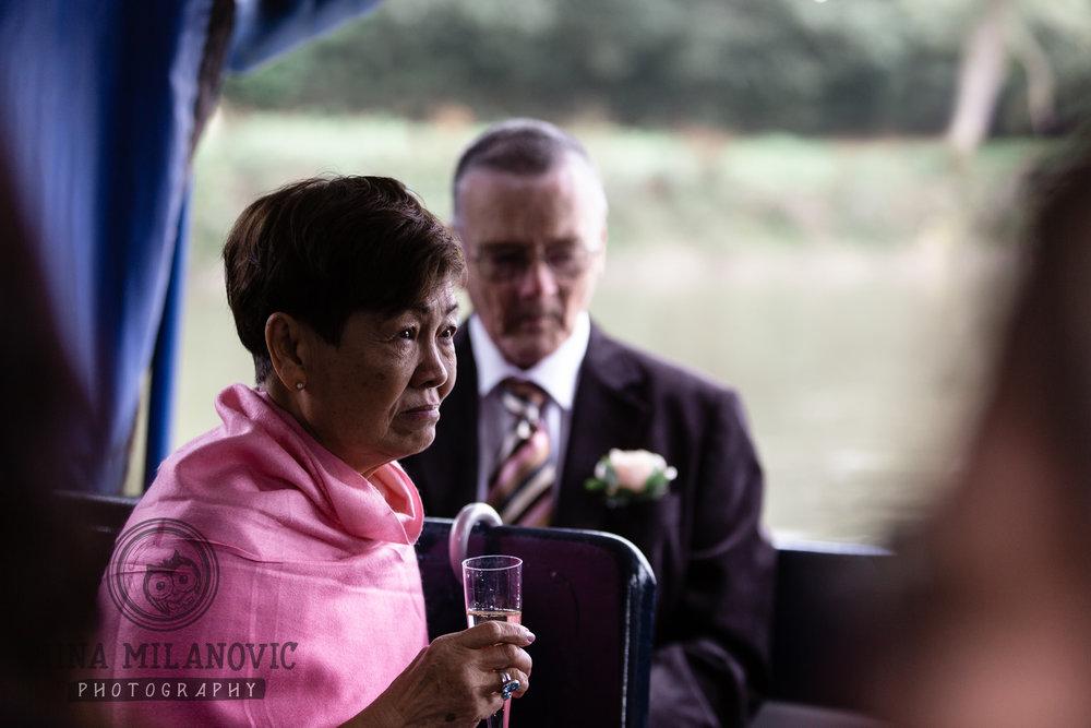 York House Wedding Boat Ride