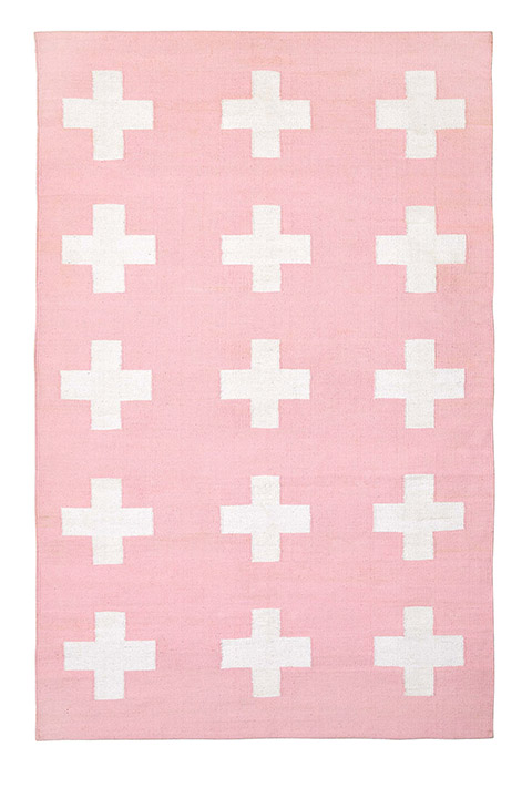 Union Rug in Blush