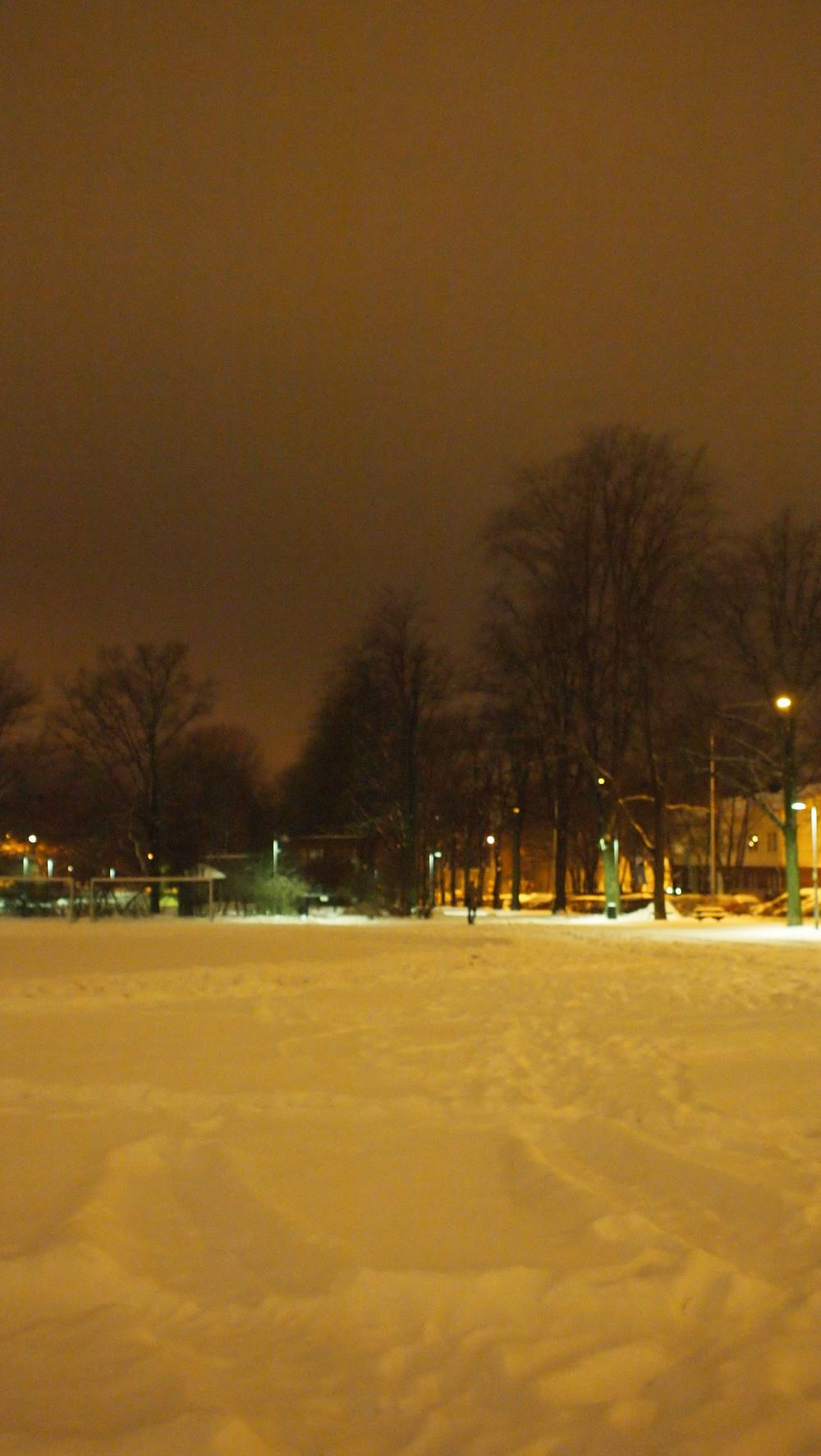 (άσπρες) Νύχτες και μέρες στο Ελσίνκι