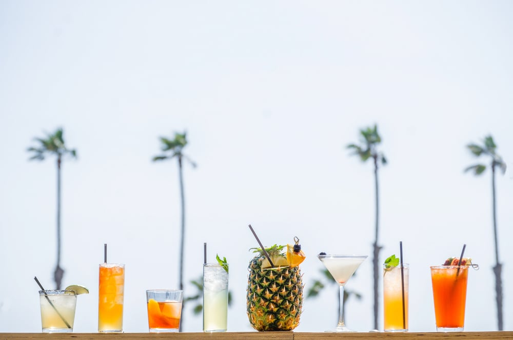 Hello Betty Oceanside  Summer Cocktail Menu