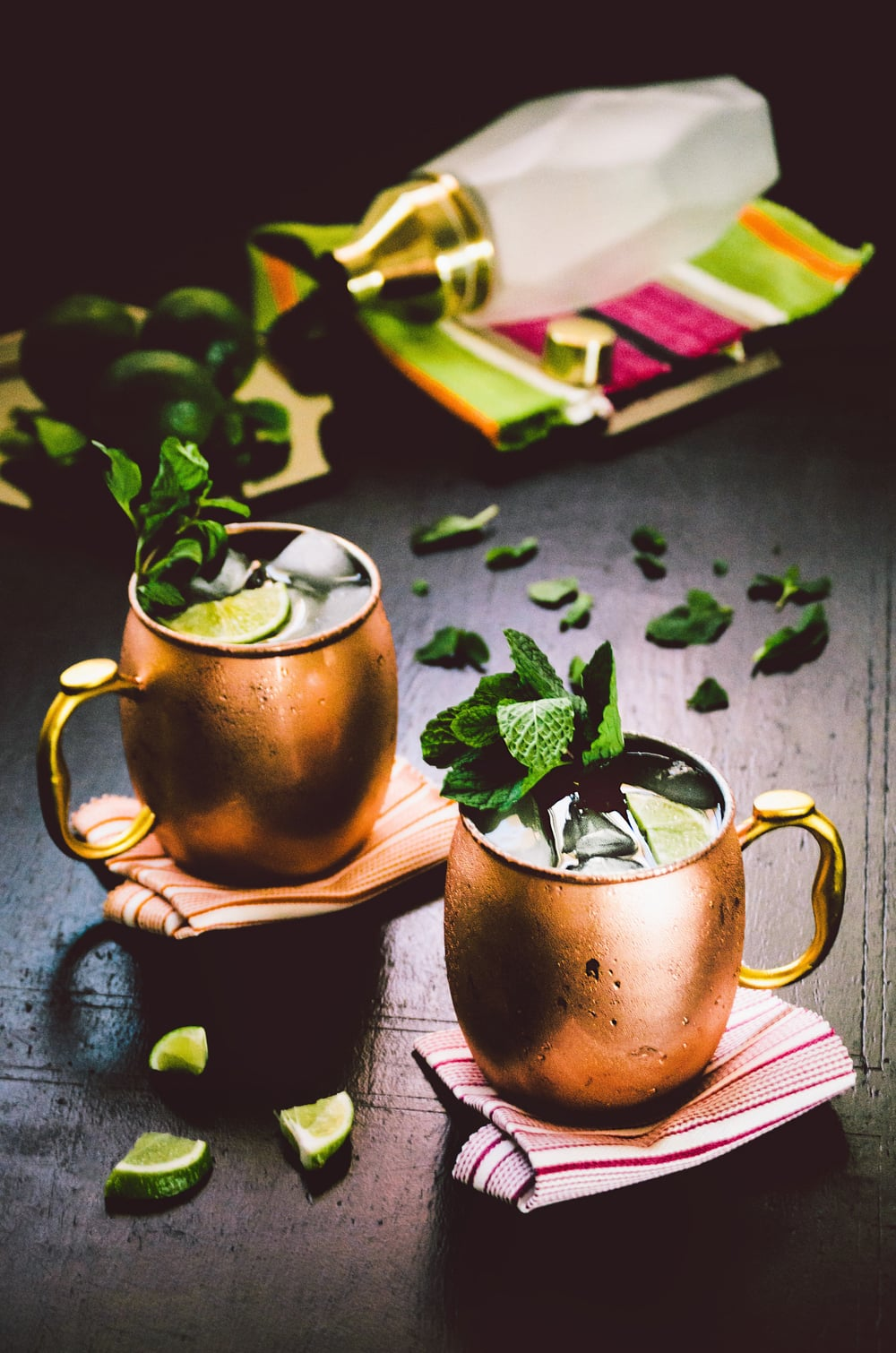 Goldwire Moscow Mule   Recipe and styling by  Dani Colombatto