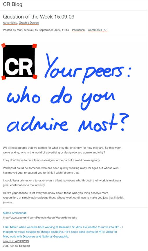 CR Blog