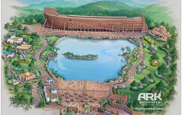 "A rendering of ""Ark Encounter"" Park."
