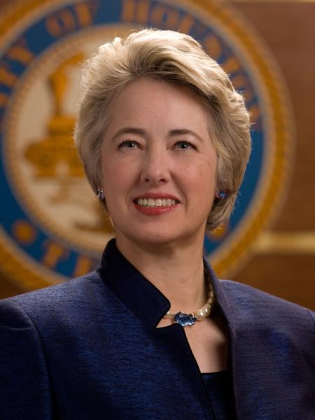HOUSTON MAYOR ANNISE PARKER.