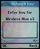 WPA key input box