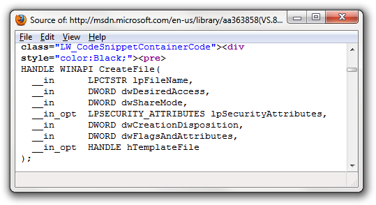 xhtml_msdn
