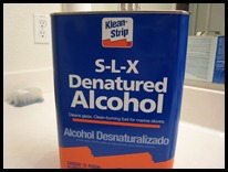 A gallon of Denatured Alcohol